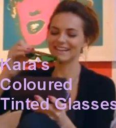 Coloured tinted lenses for dyslexia