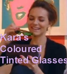 Kara Tointon Coloured Tinted lenses